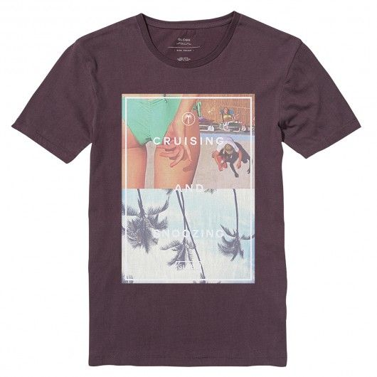 GLOBE Cruising tee-shirt plum bordeaux 30,00 € #globe #tee #tees #teeshirt #teeshirts #tshirt #tshirts #skate #skateboard #skateboarding #streetshop #skateshop @playskateshop