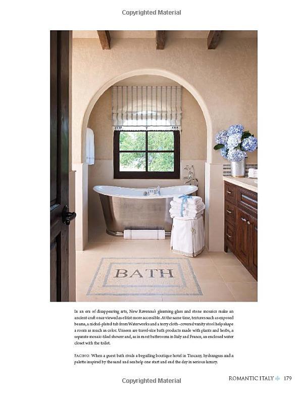 Amazon Allure Of French Italian Decor The 9781423623182 Tuscan BathroomFarmhouse