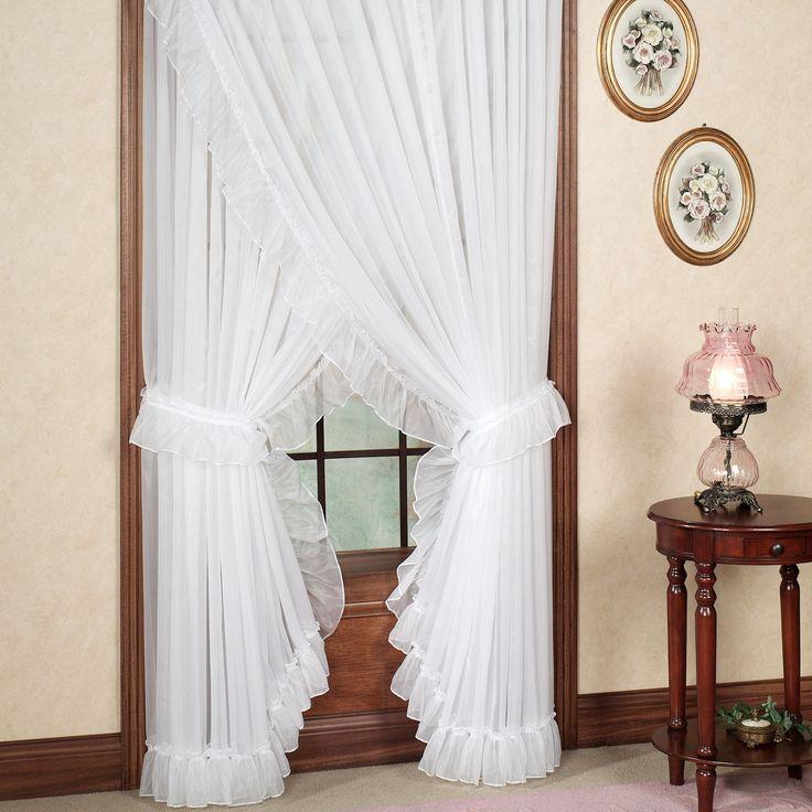 Jessica Ninon Ruffled Priscilla Curtains - Best 25+ Priscilla Curtains Ideas On Pinterest Country Curtains