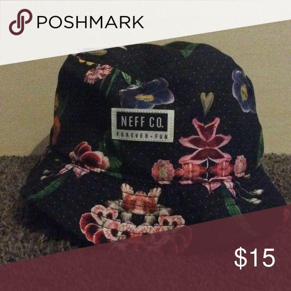 NEFF floral bucket hat Never worn before NEFF floral bucket hat ! Neff Accessories Hats