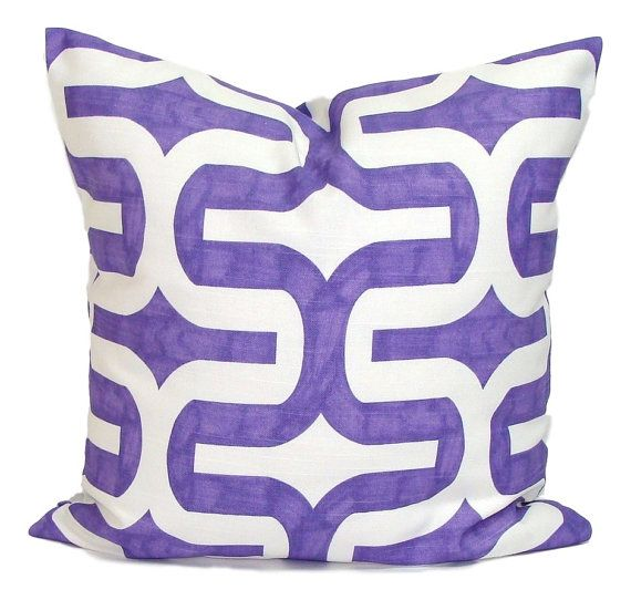PURPLE Pillows Purple Pillow Cover Decorative Pillow Purple