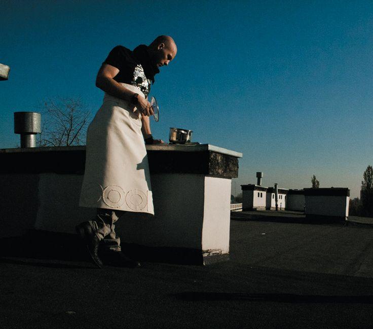 Fartuch Borys - COOKie - wystrój się do gotowania na FabrykaForm.pl