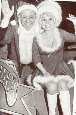 Sid James & Barbara Windsor from the Carry-on films