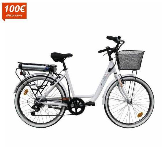 EBIKE Vélo Electrique Ville VAE CITY pas cher prix Vélo Electrique Cdiscount 699.99 € au lieu de 799.99 €