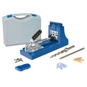 Kreg K4 Pocket-Hole System-K4H at The Home Depot  Need this to; completes my workshop ( once I get the cordless nailer)