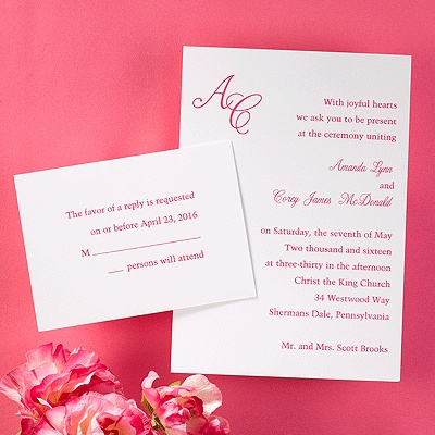 86 best Initials \ Monograms - Wedding Invitations images on - copy letter format invitation