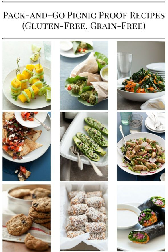 Over 25 Healthy Gluten-Free and Grain-Free Picnic Proof Recipes