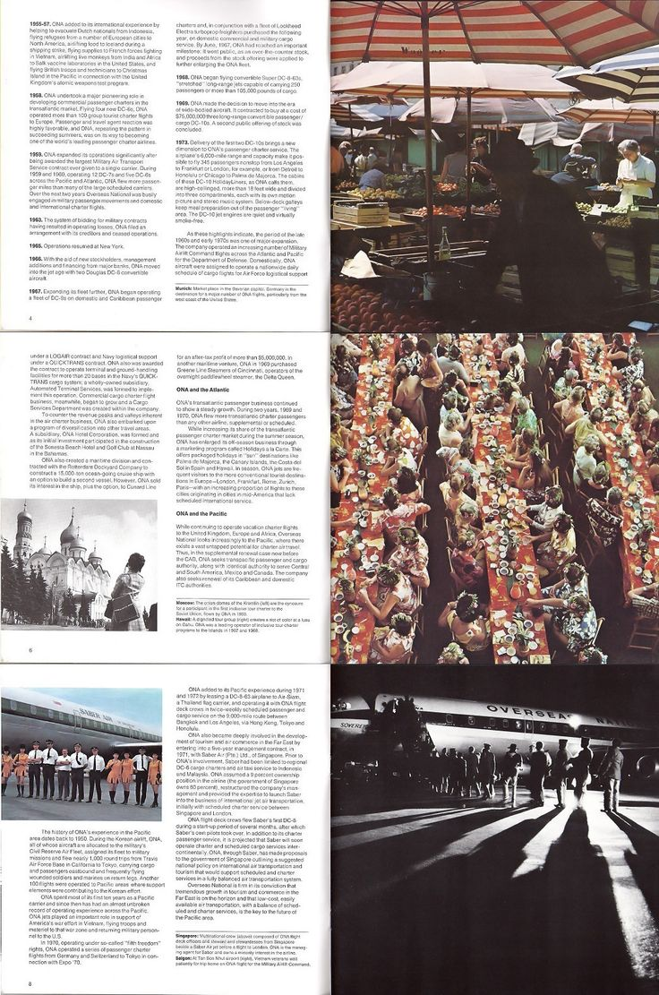 2 of 5 - 28 page marketing brochure with the most comprehensive history and outline of the company dating from 1974