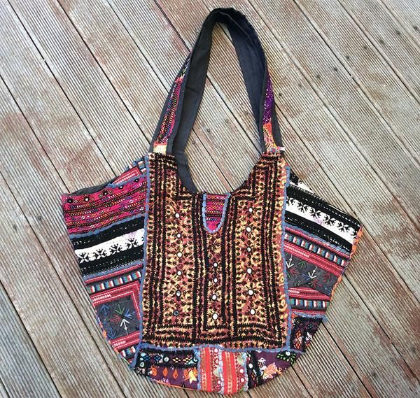 """Loving our new range of vintage boho handbags, each piece is a one-off & beautiful, a perfect addition to my """"A Bit Bohemian"""" board & to ones wardrobe if you're a boho chic! Use code AUSDAY17 to get 25% off storewide"""