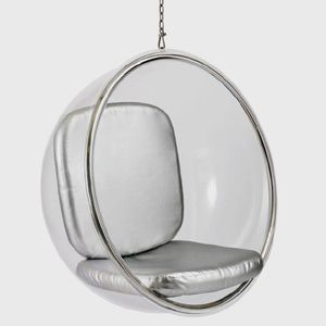 the suspended bubble chair design inspired by eero aarnio