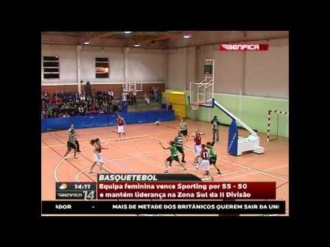 Basquetebol feminino - SL Benfica 55-50 Sporting CP