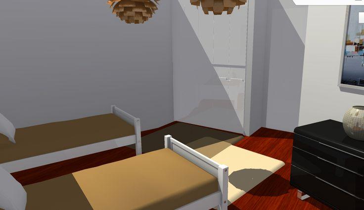 VIV.A vista de dormitorio secundario