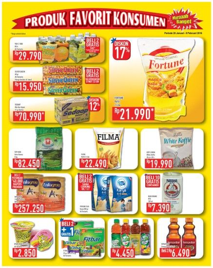 Katalog Promo Hypermart 28 Januari - 9 Februari 2016  http://zona9harga.com/promo-katalog-hypermart/
