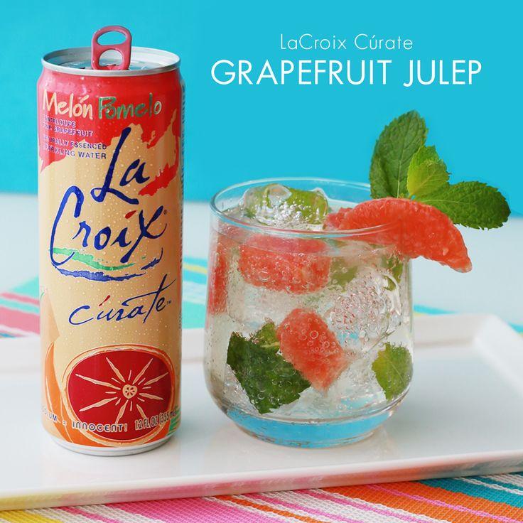LaCroix Cúrate Grapefruit Julep - LaCroix Sparkling Water