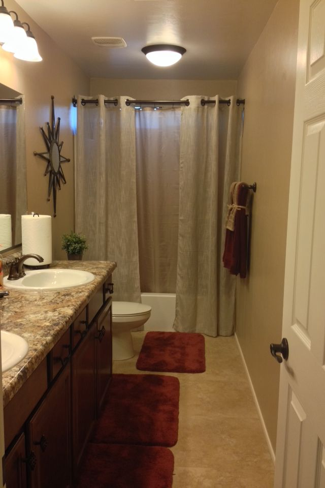 1000 Ideas About Double Shower Curtain On Pinterest