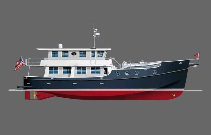 2017 Great Harbour Trawler GH74 Power Boat For Sale - www.yachtworld.com