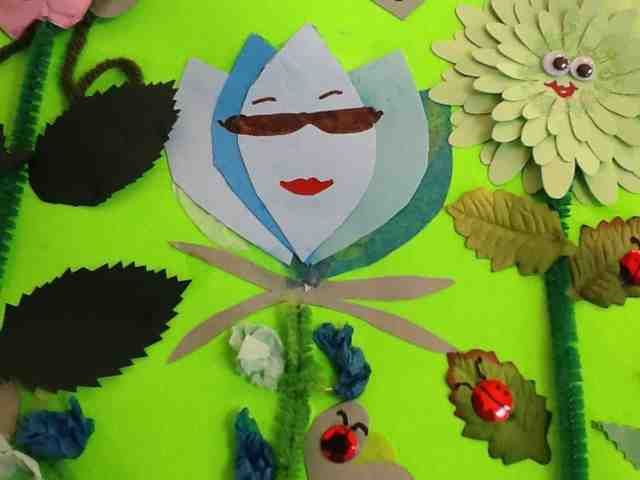 Ocd girl scout leaders lupe the lupine paper craft girl for Girl scout daisy craft ideas