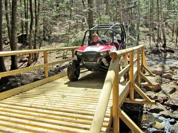 Atv Bridge Plans Woodworking Projects Amp Plans