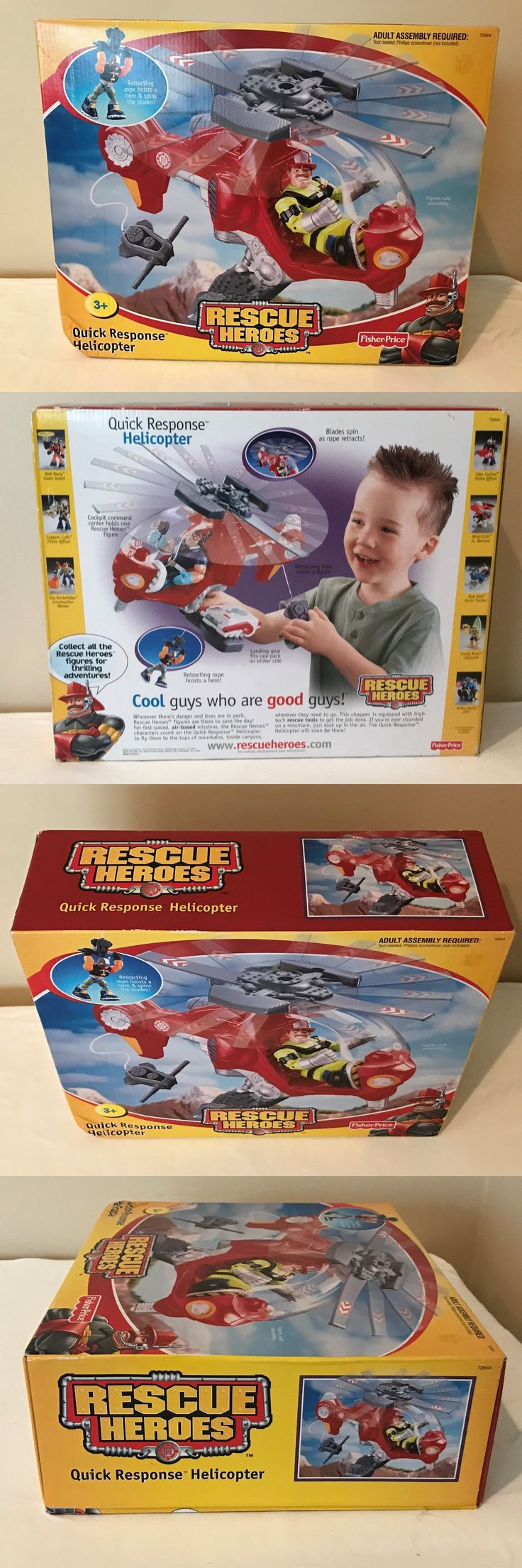 Rescue Heroes 50307: Fisher Price Rescue Heroes - Quick Response Helicopter - Brand New, Sealed! -> BUY IT NOW ONLY: $49.99 on eBay!