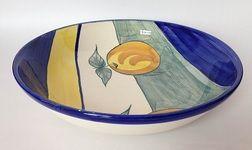 Bandeja ensaladera cerámica Carmen de Viboral