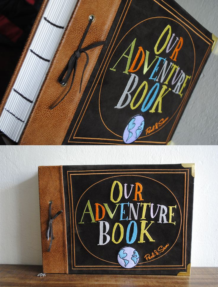 "Real Life ""Up"" Inspired ""Our Adventure Book"""