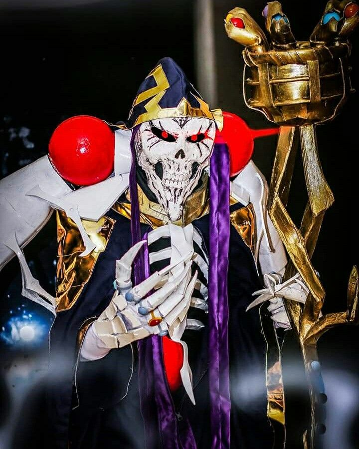 Ricky Julian as Ainz Oal Gown Overlord Cosplay