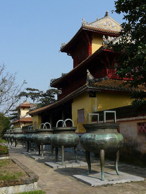 Imperial City - Hue, Vietnam  Please like, repin or follow us on Pinterest to have more interesting things. Thanks.  http://hoianfoodtour.com/ #Imperialcity #Huecity #Vietnam