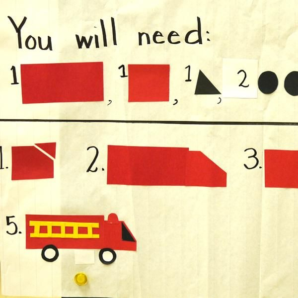How to Make a Fire Truck! Launch procedural writing by integrating social studies and literacy.