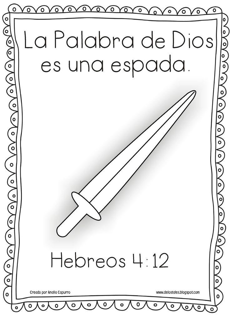 Contemporáneo Páginas Para Colorear Biblia Para Niños Con Versos ...