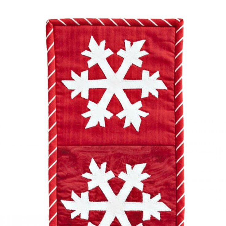 In an entryway or on the front door this wintry wall for Front door quilt pattern