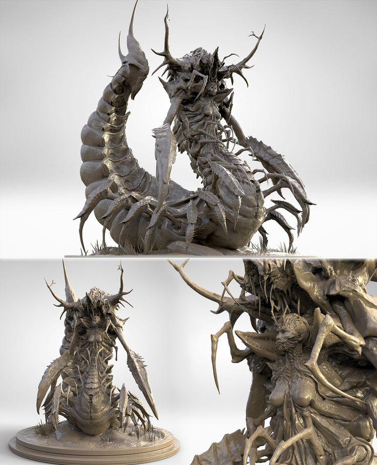 CGTalk - The curse of Serqet, James Suret (3D)