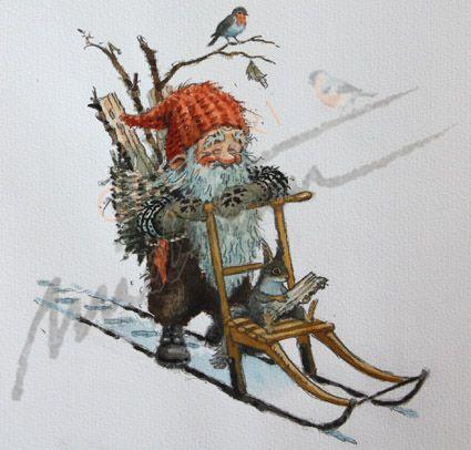 Artist Kjell E. Midthun's Nissen are quite well-known here in Norway.