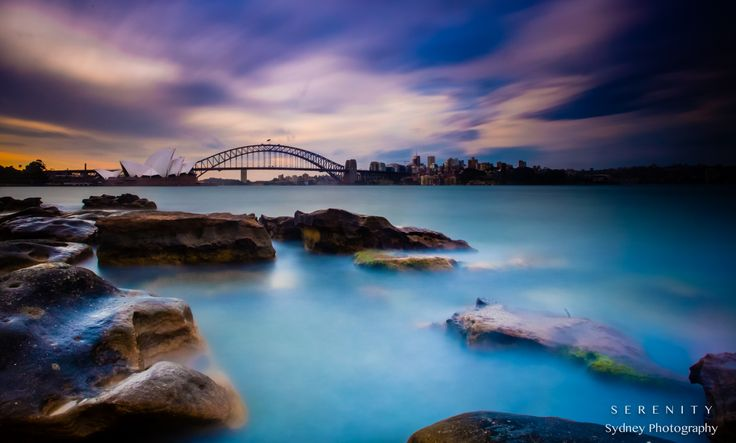 Surreal Sydney sunset by Serenity Sydney photography  on 500px