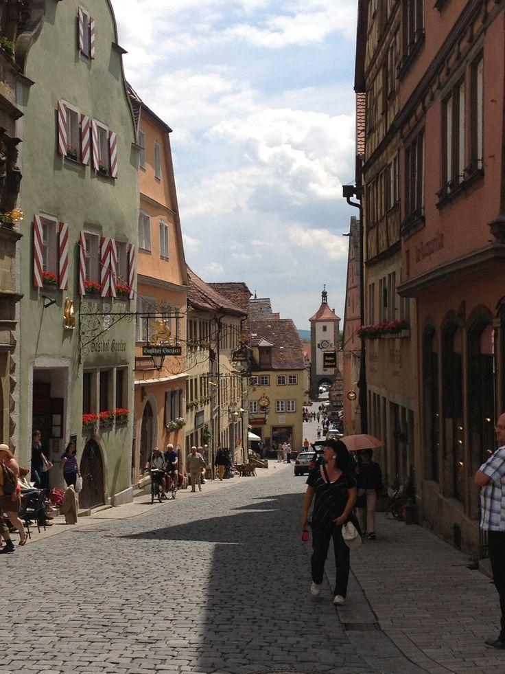 Bavaria in the summer . Romantic road