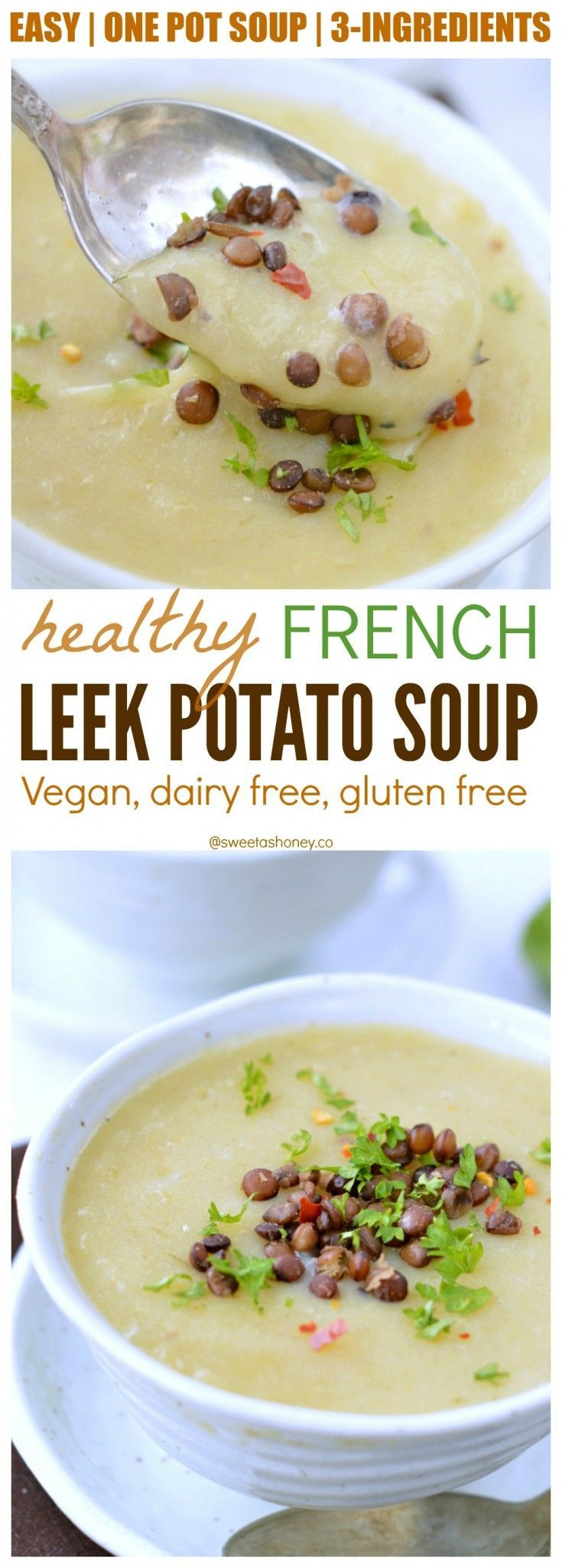 Leek Potato Soup, Vegan Soup