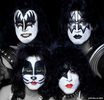 My one and only favorite of all times: KISS with Peter Criss