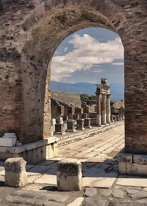 Pompeii, province of Naples, Campania region Italy  I think If I ever went to Italy I would run out of memory cards.