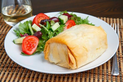 Lamb Exohiko (Lamb, Spinach and Cheese Stuffed Phyllo Parcels) | Reci ...