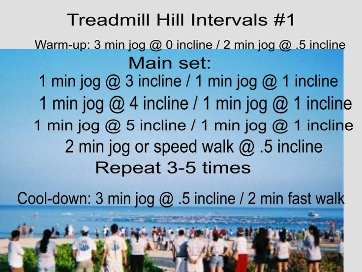 For this workout you run at .5 incline or higher for most of the run. You run at a slight incline even between intervals! Why am I so mean? The constant small incline better mimics running outside. So, if you do this workout all winter not only will you be fit, you will be ready to run outside in the spring!! Enjoy :-) This is a photo from the start of Hawaii Ironman 70.3.