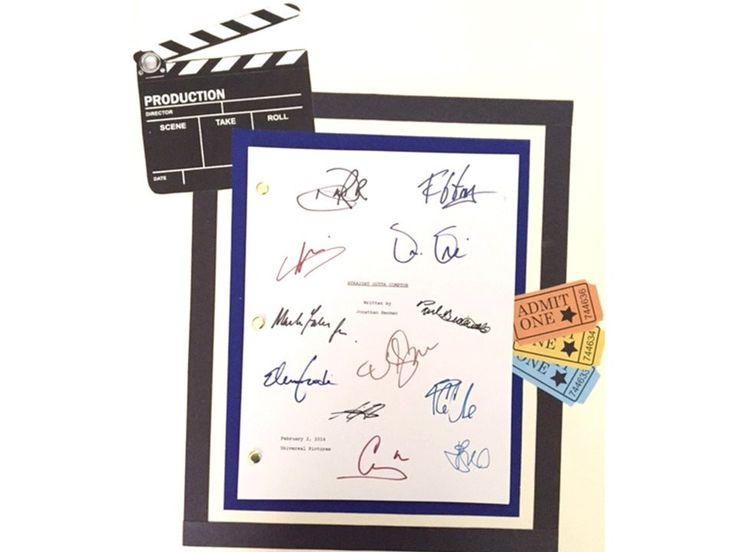 Straight Outta Compton Movie Script Reprint, O'Shea Jackson, Jr., Ice Cube, Dr. Dre, Corey Hawkins & more