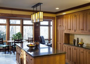 Arts And Crafts Kitchen   Traditional   Kitchen   Boston   Woodbourne  Builders Inc