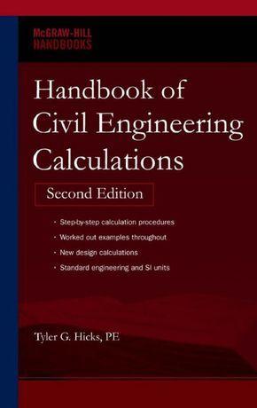 60 best work images on pinterest civil engineering civil handbook of civil engineering calculations second edition mcgraw hill handbooks handbook of civil engineering calculations fandeluxe Gallery