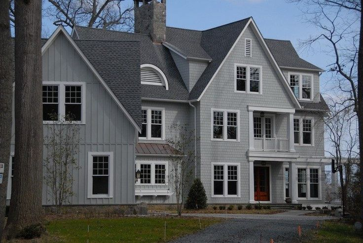 Best Pewter Gray Shingles Exterior Traditional With Project 400 x 300