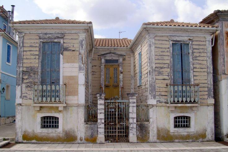 Δεκαετία του '50. Οικία Μαμαλούκα στην οδό Άγγελου Σικελιανού.