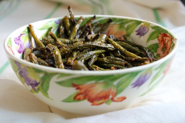 miso green beans | From the Kitchen | Pinterest