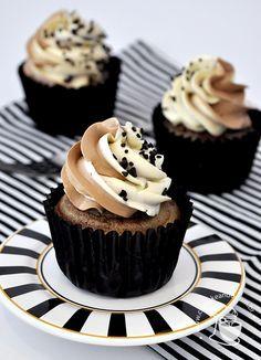 Cupcakes Zebrados | Cupcakeando