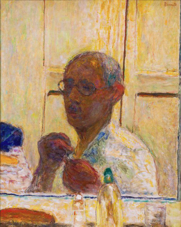 Pierre Bonnard • Self portrait, ca.1938-40