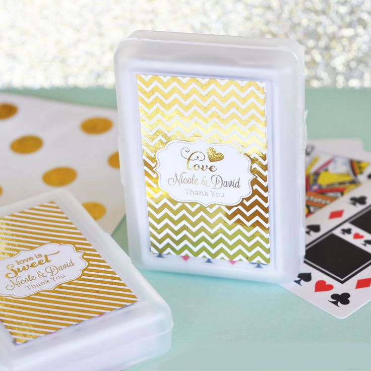 Glam Personalised Playing Cards