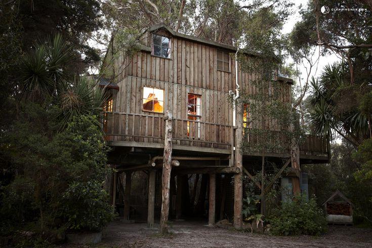 Unique Tree House near Burnie, Tasmania