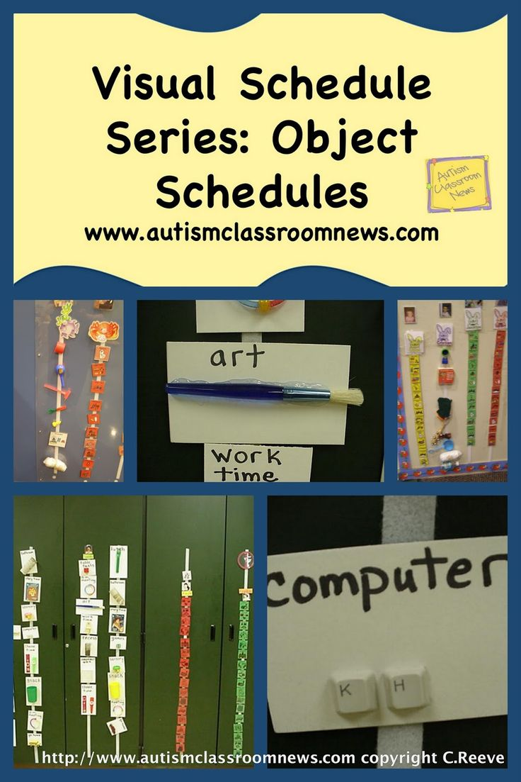 In this series, I have talked about a lot of different types of schedules, how to use them and why to use them.  As we wind up, I wanted to make sure that I touched on the use of object schedules.  In general, unless vision is an issue, we typically start students with picture schedules …